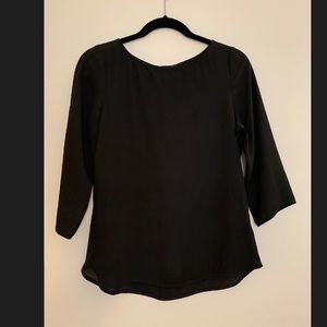 Express Button back blouse